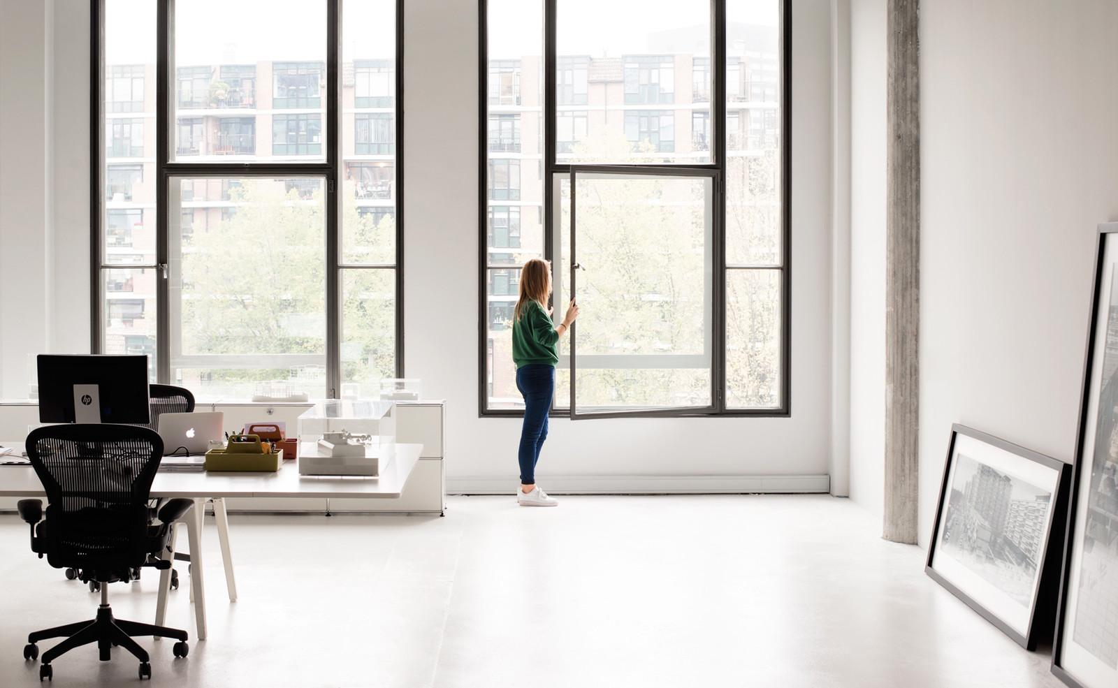 Новый офис студии KAAN Architecten в Роттердаме