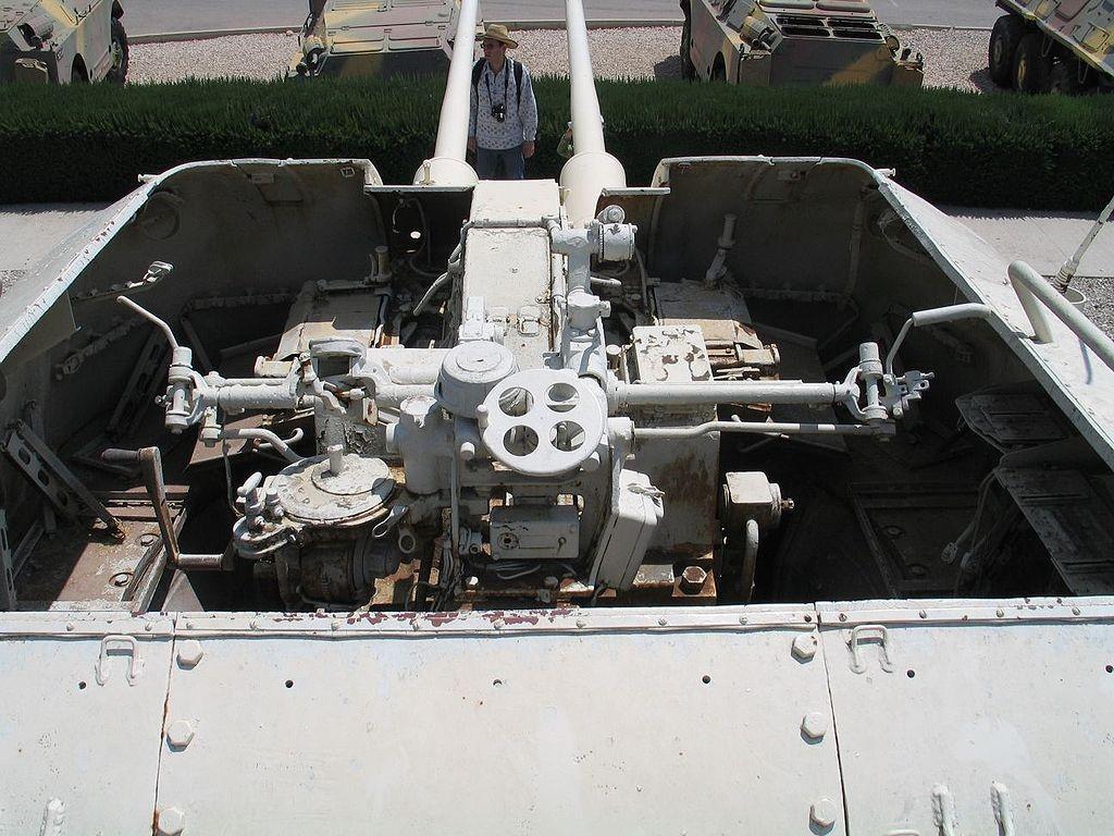 Двухствольный танк ЗСУ 57-2