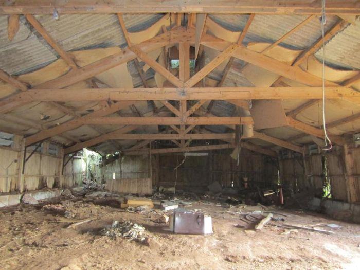 Переделка старой птицефермы в комфортабельный дом