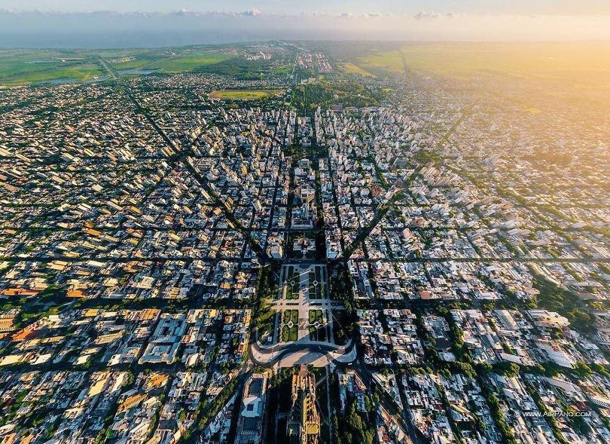 Города мира с высоты птичьего полёта