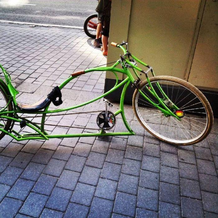 Уникальные и необычные велосипеды