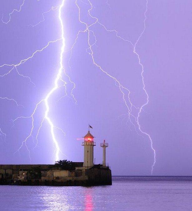 Захватывающие фотографии молний