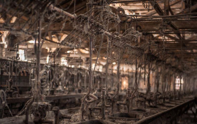 Экскурсия на самый большой заброшенный шелковый комбинат