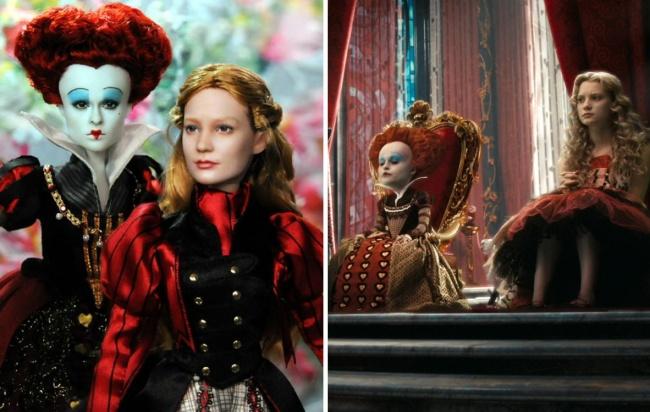 Эти куклы необыкновенно похожи на людей