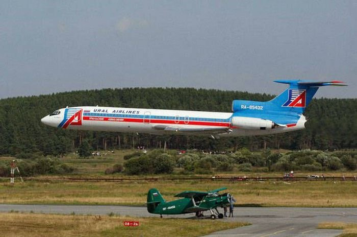 Прикольные фото с самолетами