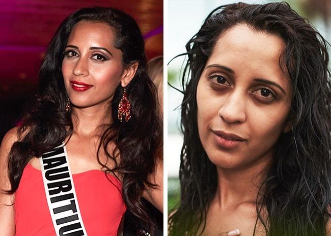 Участницы конкурса Мисс Вселенная без макияжа