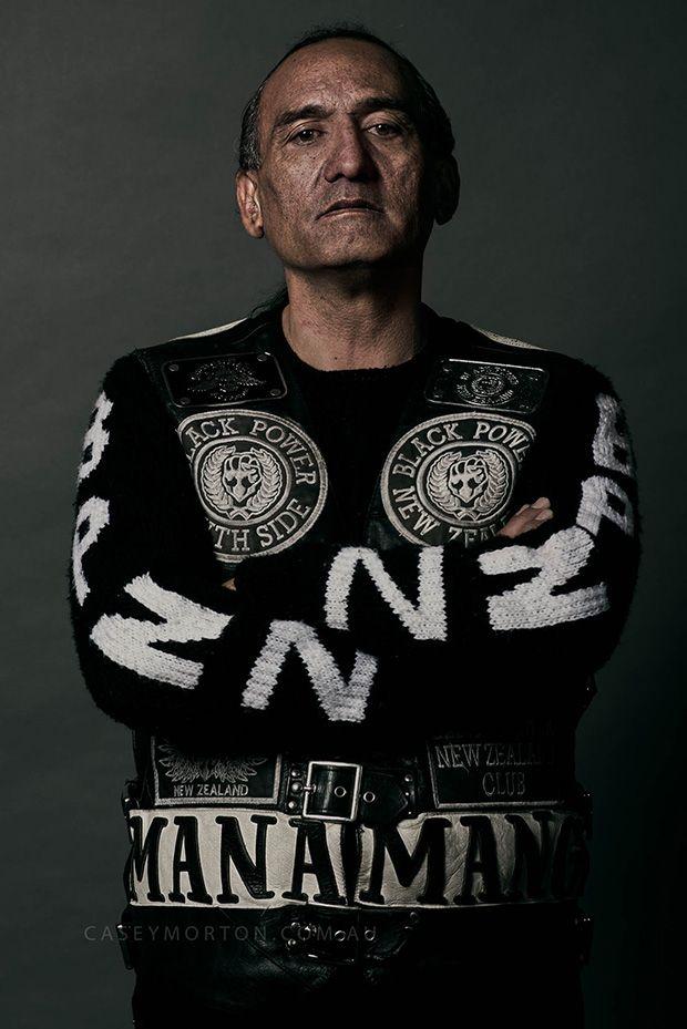 Члены одной из опасных криминальных группировок Новой Зеландии
