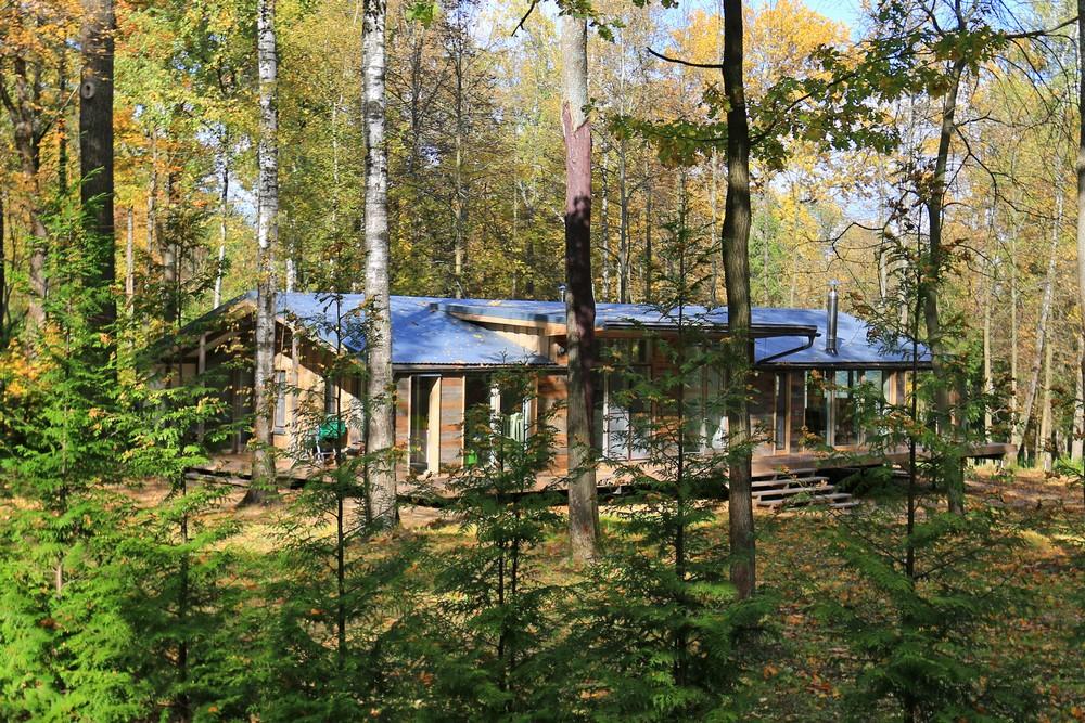 Модульный дом в пригороде Москвы
