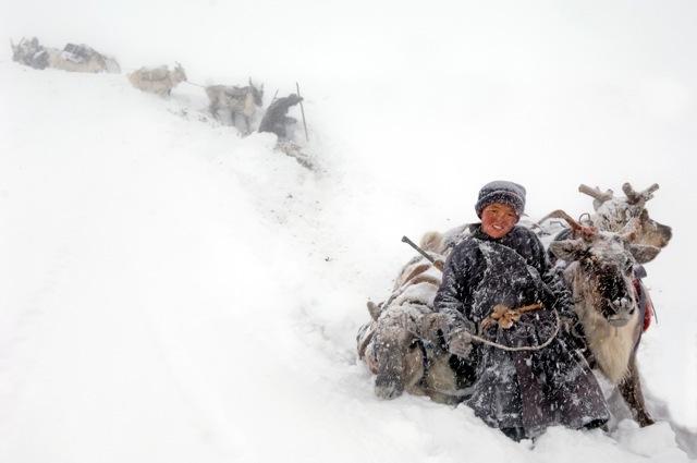 Жизнь кочевых племен Монголии