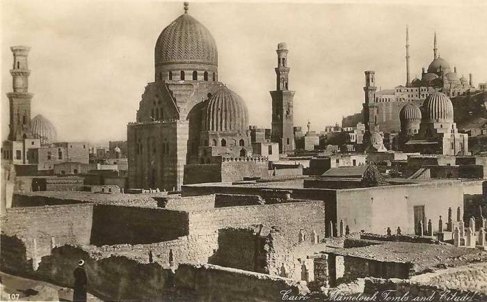 Египет на старых открытках