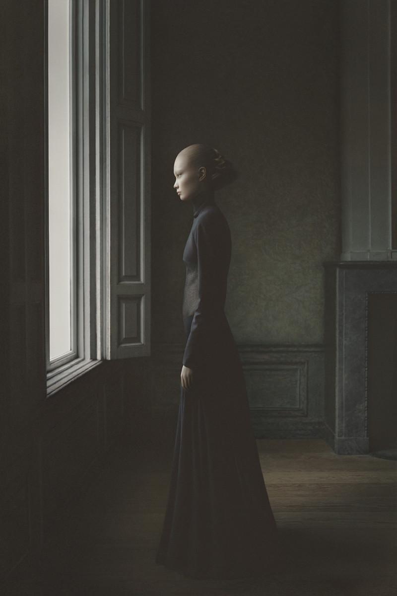 Фотопортреты Дезире Долрон, похожие на картины голландских живописцев