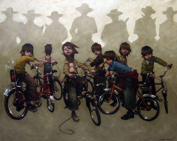 Сила детского воображения на картинах