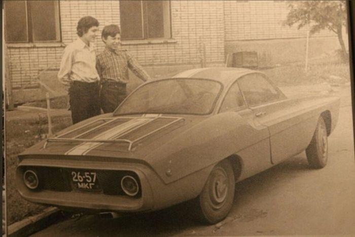 Спорт-900 - уникальный концепт спорткара на базе Запорожца