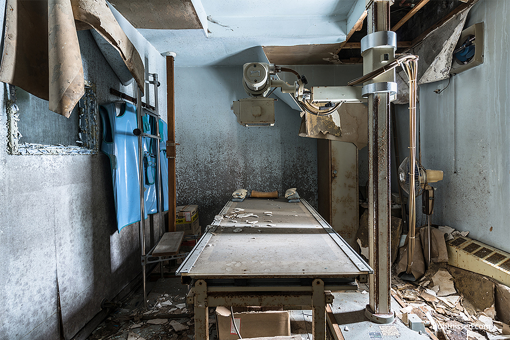 Жуткие кадры из заброшенной японской клиники