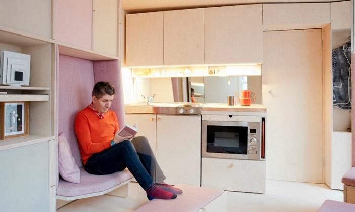 Комфортное жилище площадью всего 13 кв. метров