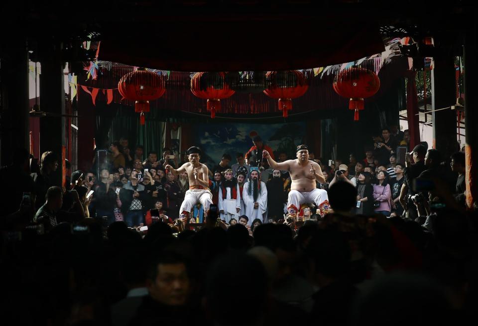 Кровавый китайский ритуал