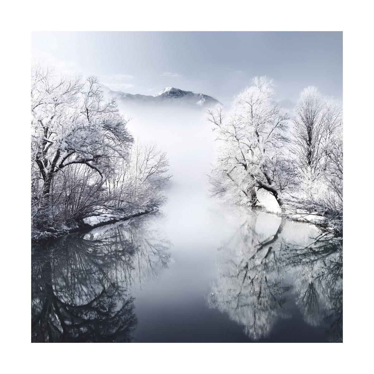 Фотопроект Килиана Шонбергера: Зима в квадратах