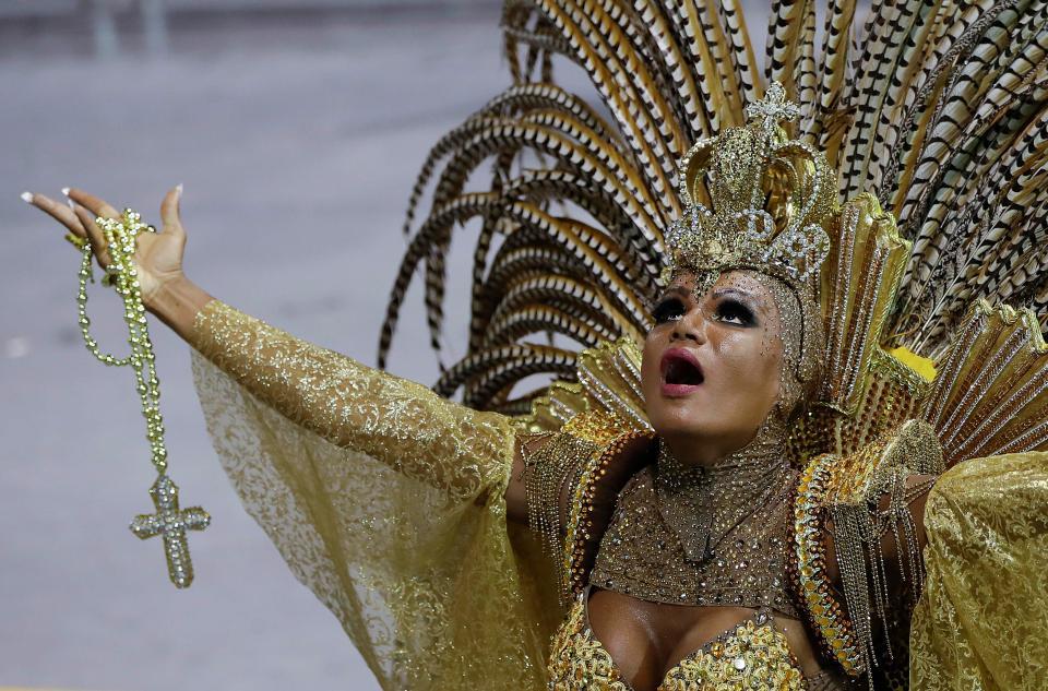 Карнавал в Рио-де-Жанейро