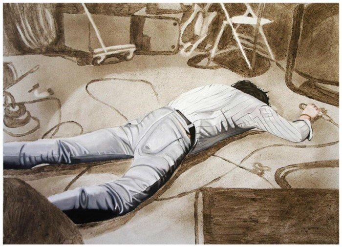 Картины Эллисон Кортсон из пыли