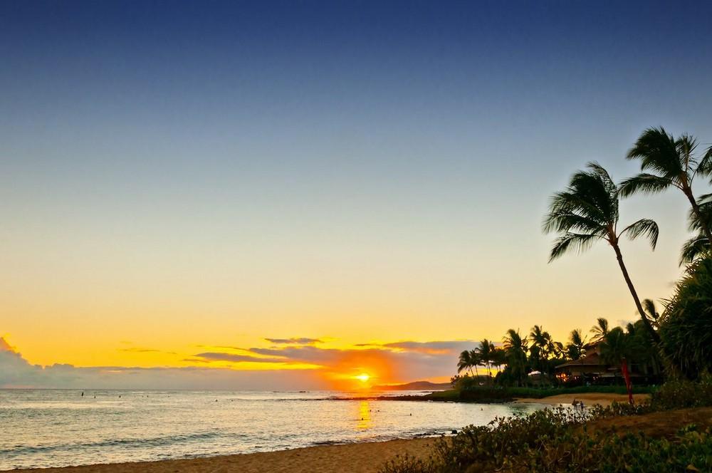 Красота теплых пляжей