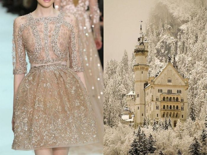 Потрясающие платья, дизайн которых навеян красотой природы