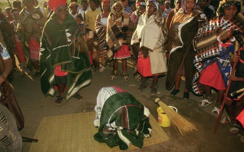 Африканские колдуны сангома