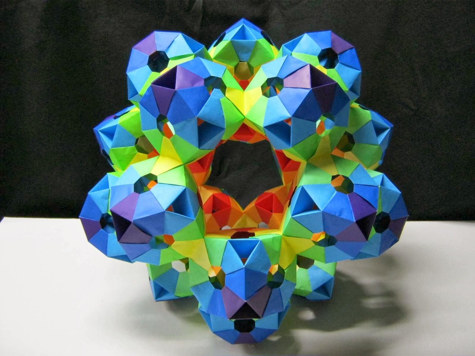 Модульное оригами: древнее искусство кусудама