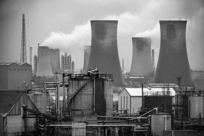 Романтика индустриальных пейзажей
