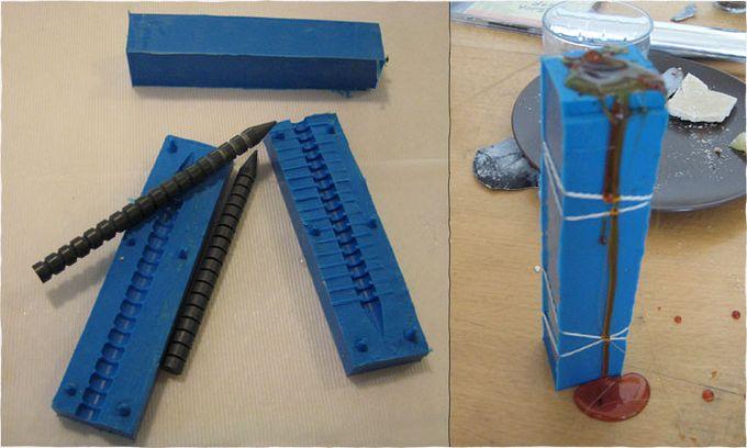 Съедобная ручка для письма