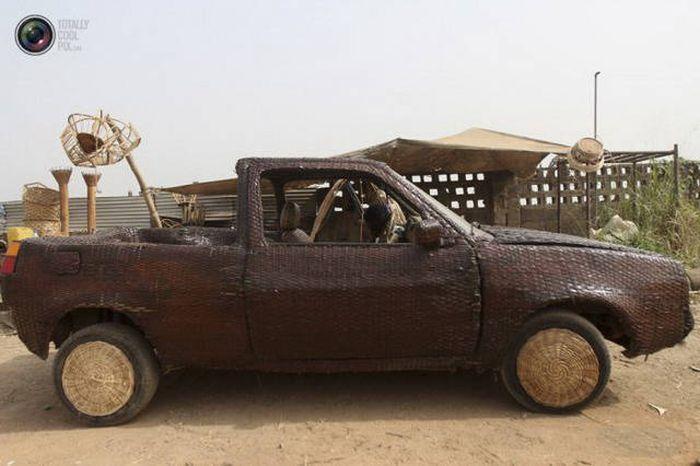 Странные и необычные транспортные средства