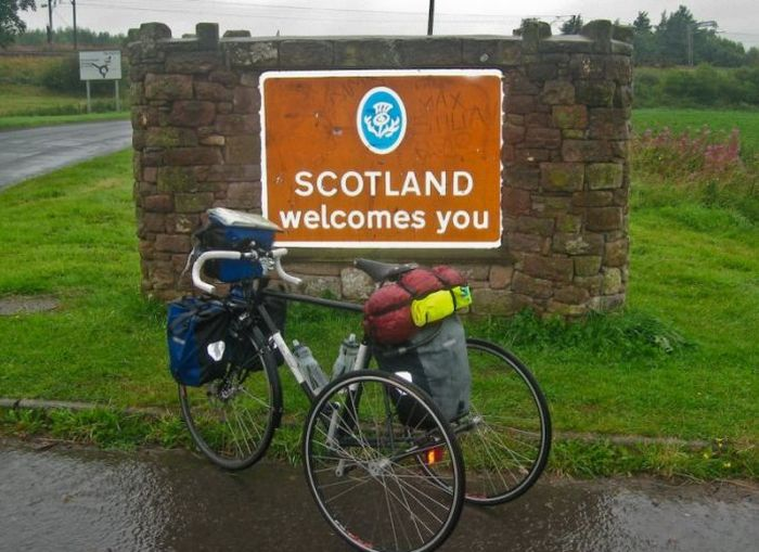 Велосипеды путешественников