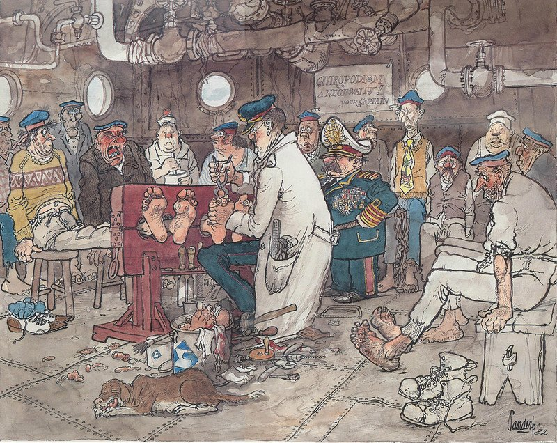 Душевные карикатуры о жизни моряков