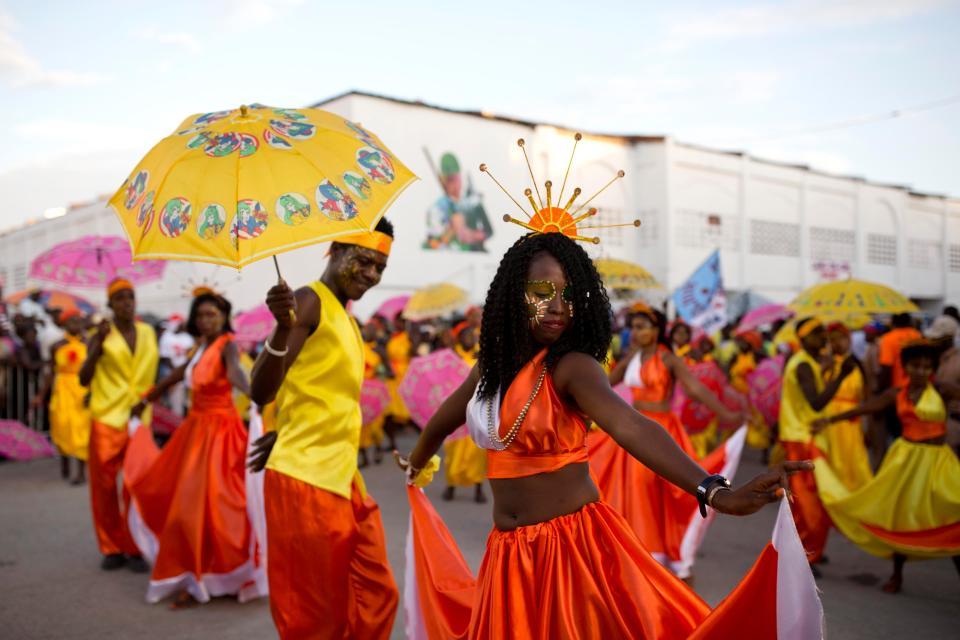 Ежегодный парад ужасов на Гаити