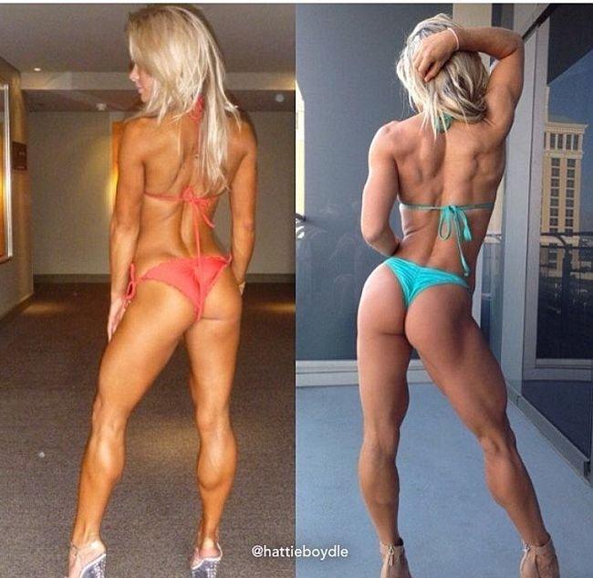 Фитнес помог девушке обрести фигуру своей мечты