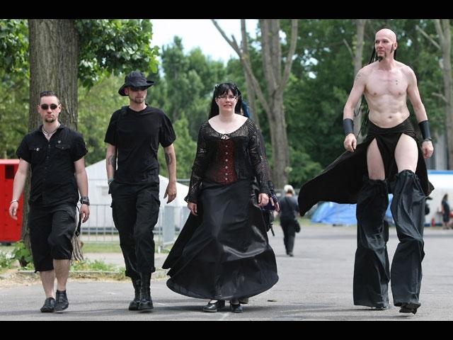 Шокирующий музыкальный фестиваль в Лейпциге