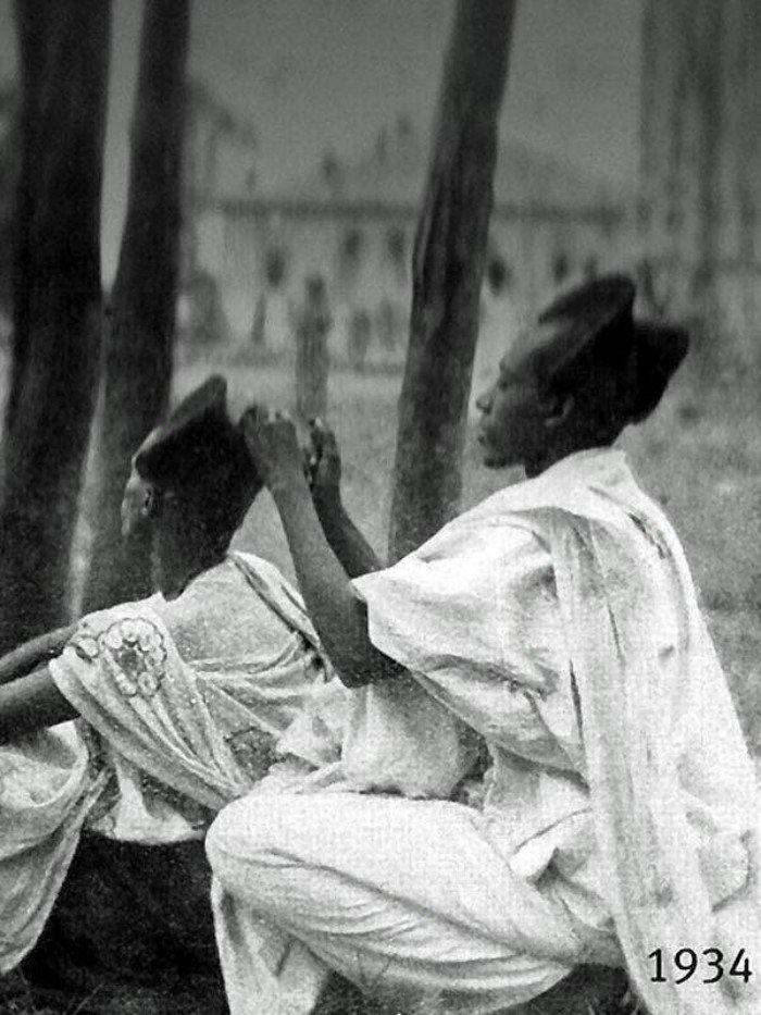 Амасунзу — традиционные руандийские прически