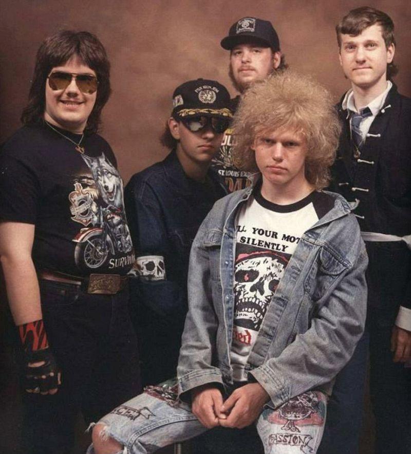Дурацкие обложки металлистов из диких 80-х