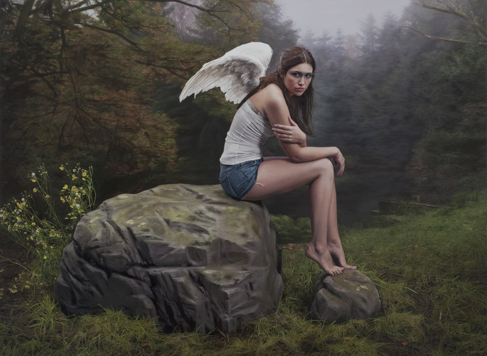 Гиперреалистичные картины Филиппа Вебера