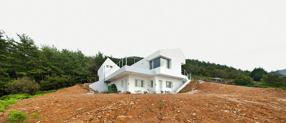 Дом по бюджетному проекту возле Сеула