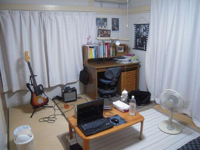 Комнаты обычных японцев