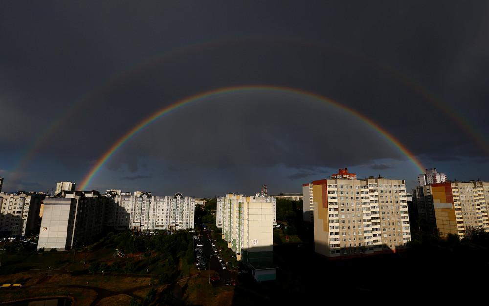 Красота радуги на фотографиях