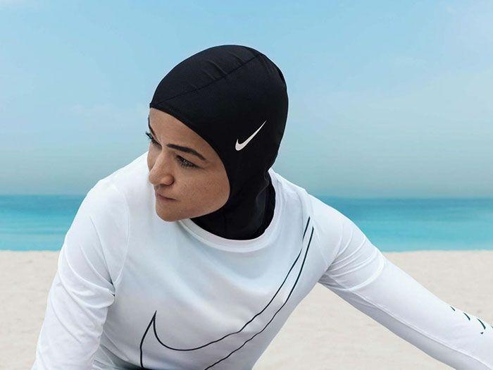 Спортивный хиджаб от компании Nike
