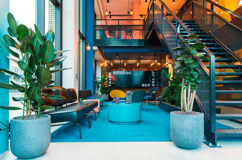 Внутри студенческого отеля в Нидерландах