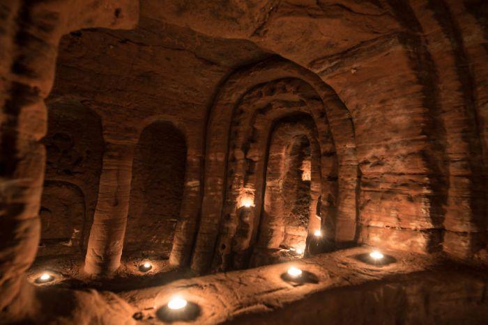 Кроличья нора оказалась входом в 700-летнюю сеть пещер, построенных тамплиерами