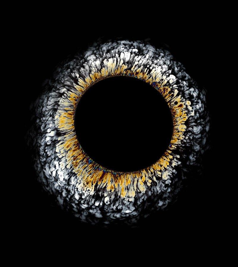 Нефтяные разливы в сюрреалистических фотографиях Фабиан Офнер