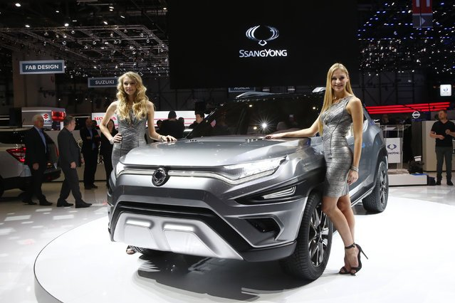 Автомобили на Geneva International Motor Show 2017
