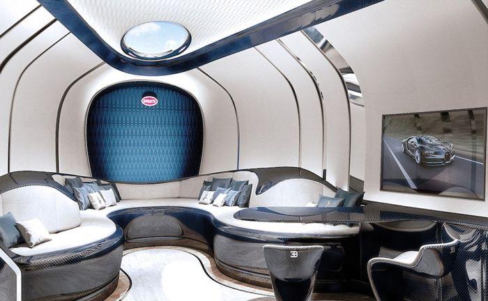 Компания Bugatti представила спортивную яхту Niniette 66