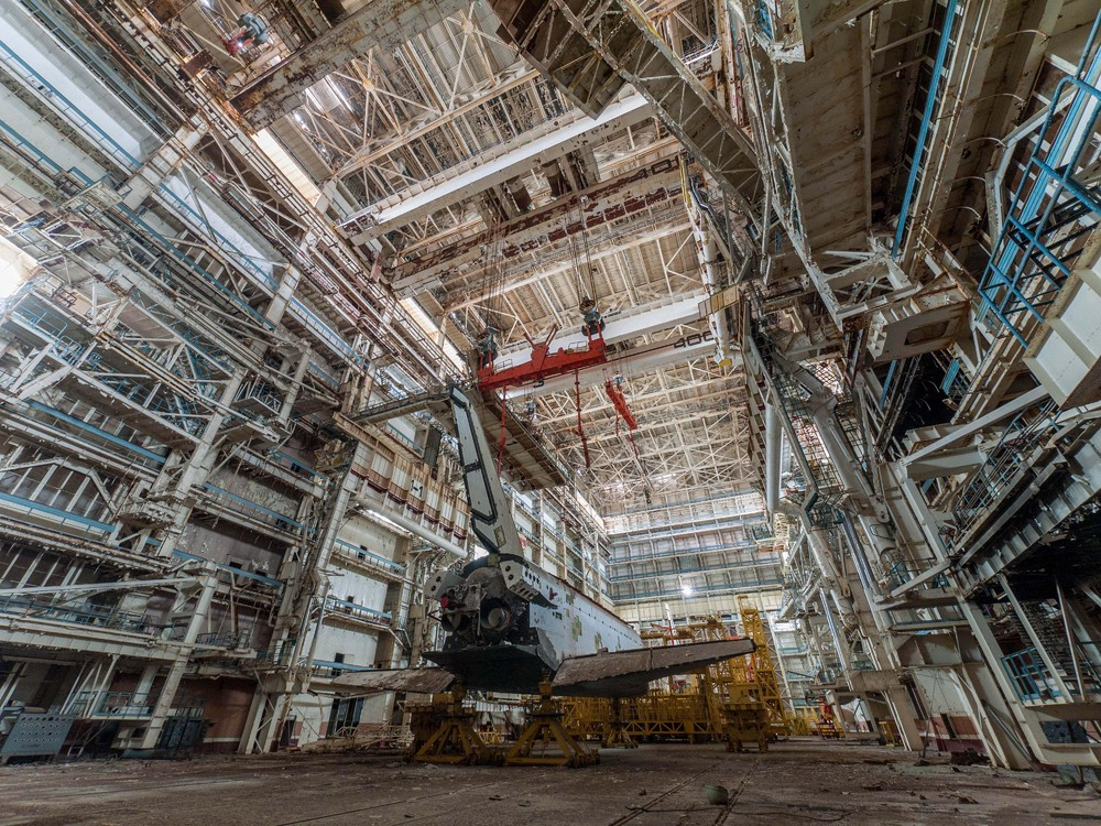 Останки советской космической программы шаттлов
