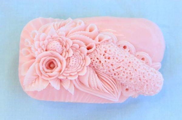Шедевры из кусков мыла от итальянского художника
