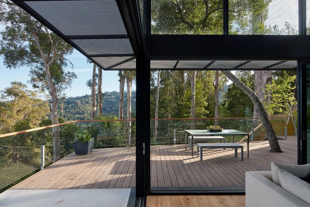 Дом с прекрасным видом на долину в США